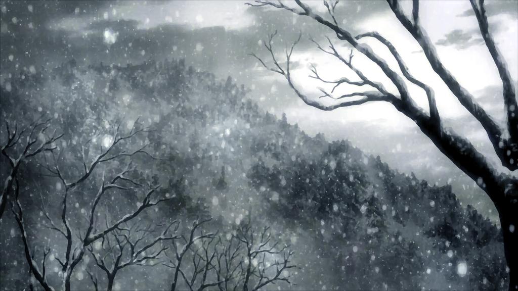 Snowy Forest [WP] by Aenea-Jones
