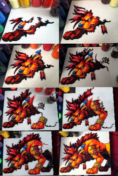 Nanaki/Red XIII [Process]