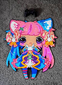 Cotton Candy Maiden