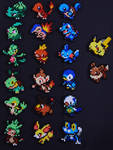 Pokemon Starter Sets [SOLD] by Coccineus