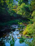 Where the River flows IX