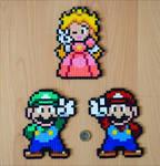 Mario, Luigi + Peach
