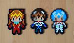 Chibi Evangelion Characters