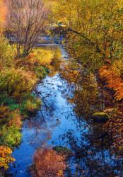 River flowing, nostalgia growing VII by Aenea-Jones