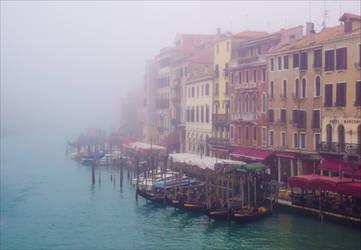 Foggy Venice by Aenea-Jones