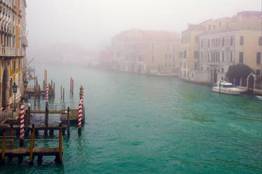 Foggy Venice III by Aenea-Jones