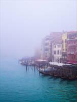Foggy Venice IV by Coccineus