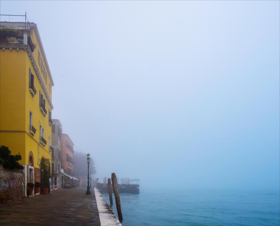 Foggy Venice VIII by Aenea-Jones