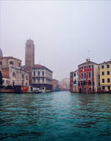Foggy Venice IX by Coccineus