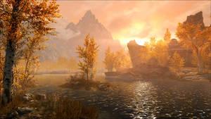 Skyrim Sunset