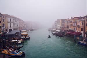 Foggy Venice X by Coccineus
