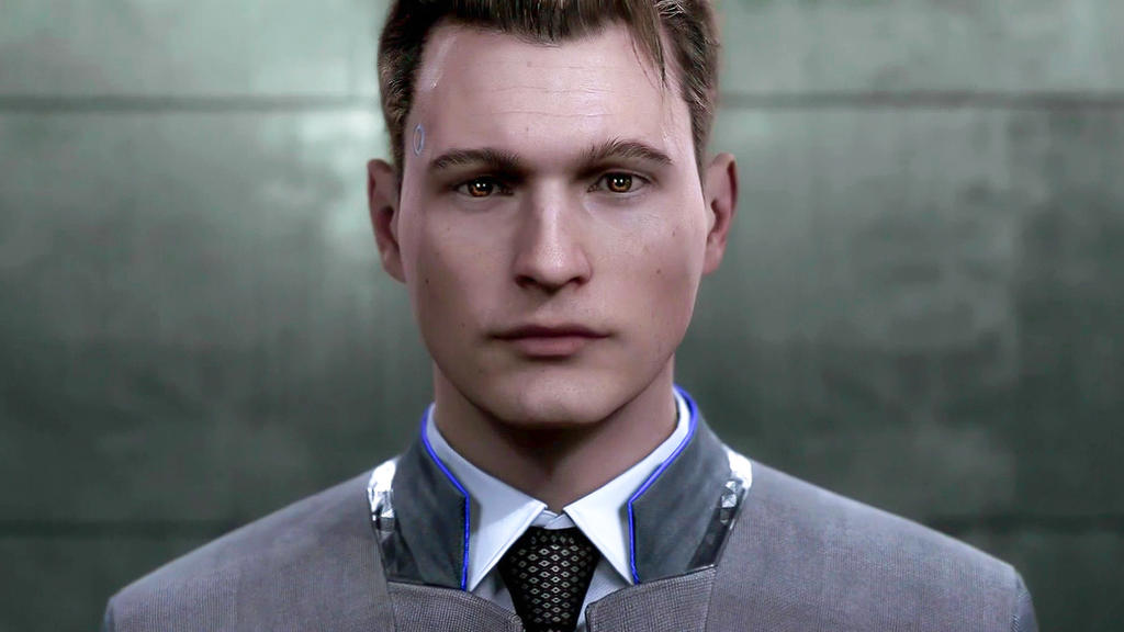 Detroit Become Human Connor Wallpaper: The Negotiator [Detroit: Become Human] By Aenea-Jones On