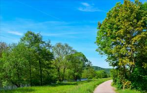 Countryside Walk II by Aenea-Jones