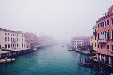Foggy Venice XV v2.0 by Aenea-Jones