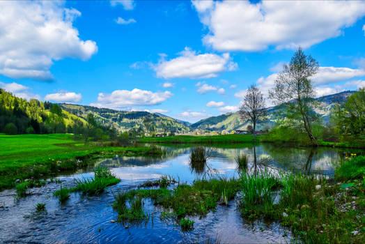 Blue Sky Lake V