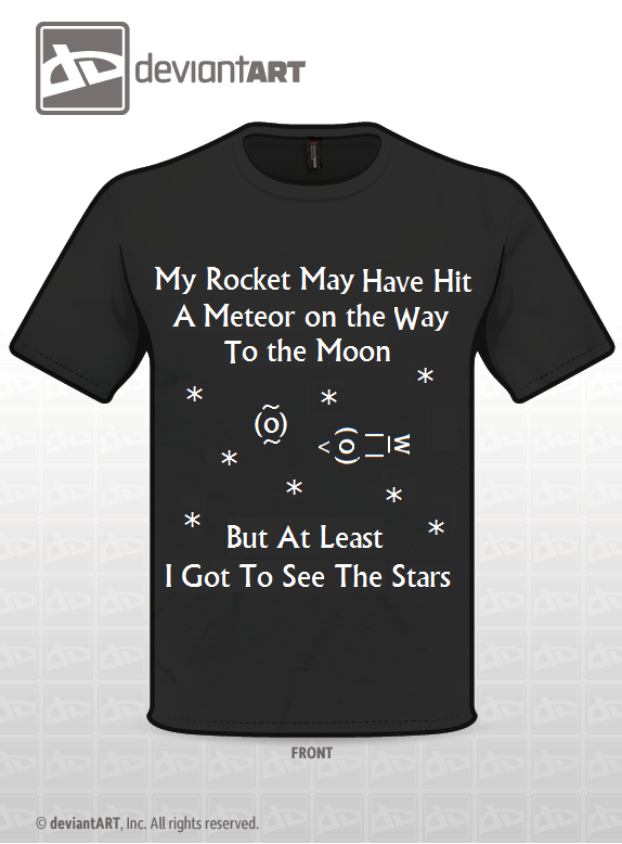 Ambition Rocket - T shirt design by 630leosa