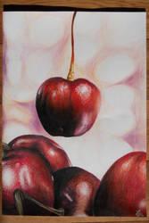 Cherries by Kemrilka