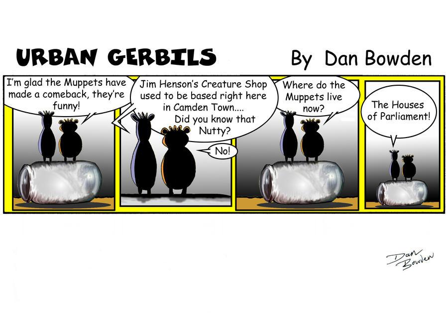 URBAN GERBILS.Muppets by UrbanGerbils