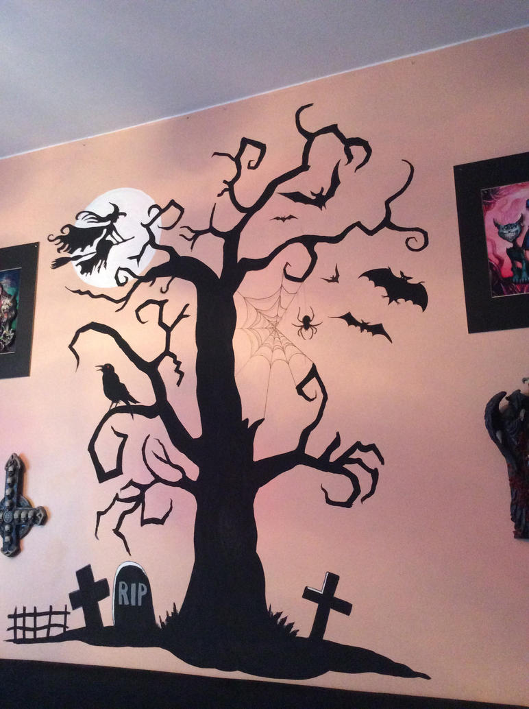 Gothic wall mural by DannoGerbil