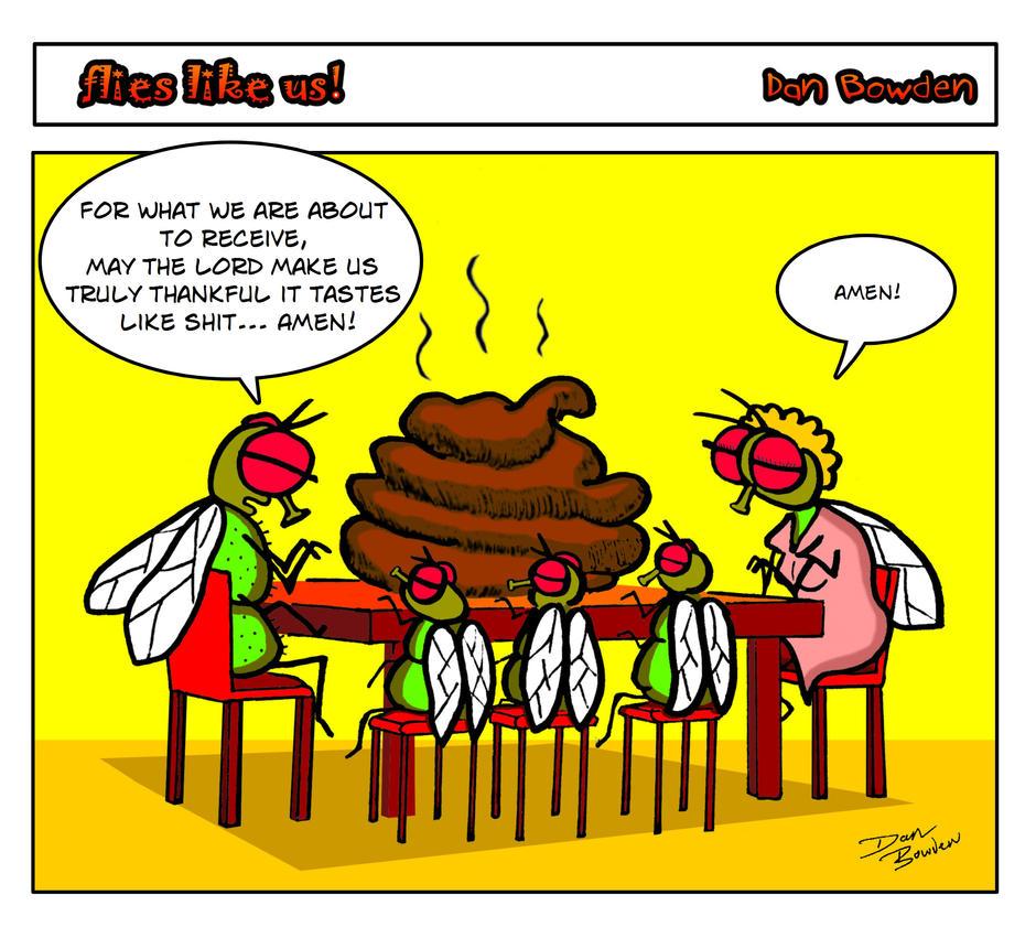 Flies Like Us. 1 by DannoGerbil