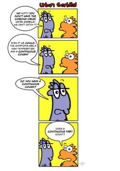 Urban Gerbils. New strip