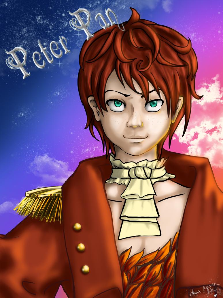 Peter Pan Peter_pan_in_scarlet_by_yumi_chan7-d3iekau