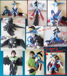 Susan's Plushies:Ess+Toothless