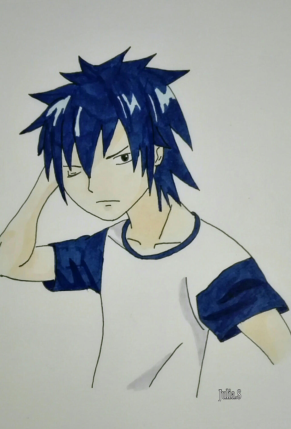 Gray Fullbuster - Fairy Tail by goldfinch92 on DeviantArt