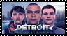 Detroit: Become Human Stamp by Quartziie