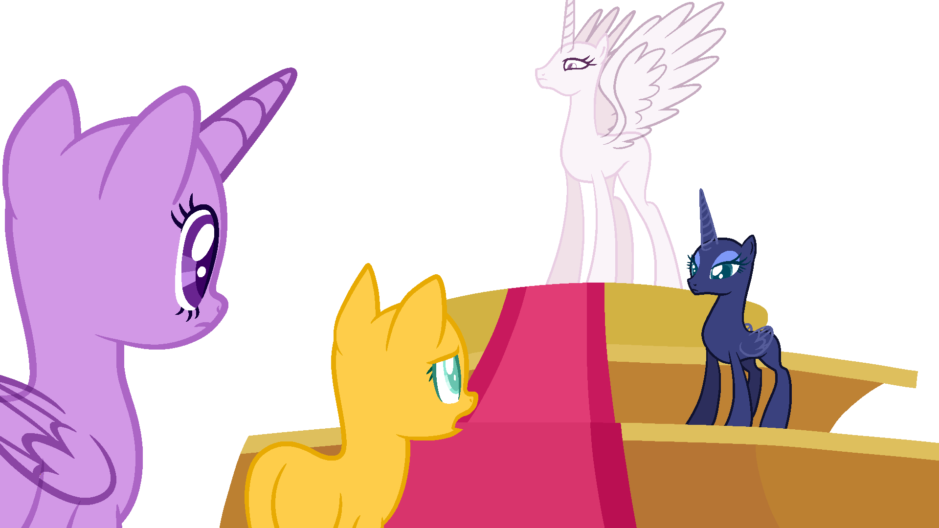 Mlp Base: when your mom gives you the look by ZoZoRaRaRa