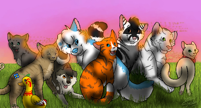 One Big Family by Acrid-Blood