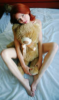 teddy bear by tatianavish