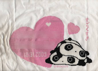 Tarepanda Love - Cross-Stitch