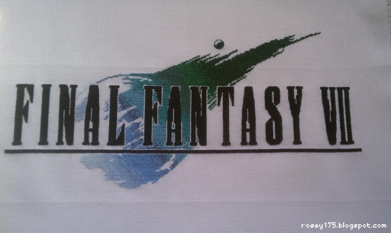 Final Fantasy VII Cross-Stitch - Complete