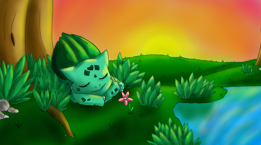 001- Bulbasaur by AdmiralBoo