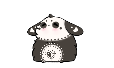 Panda Bunny ADOPTABLE /CLOSED by Jennlevi