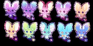 Adorable Bat Adoptables /OPEN by Jennlevi
