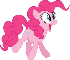 Pinkie Jump by HornFlakes