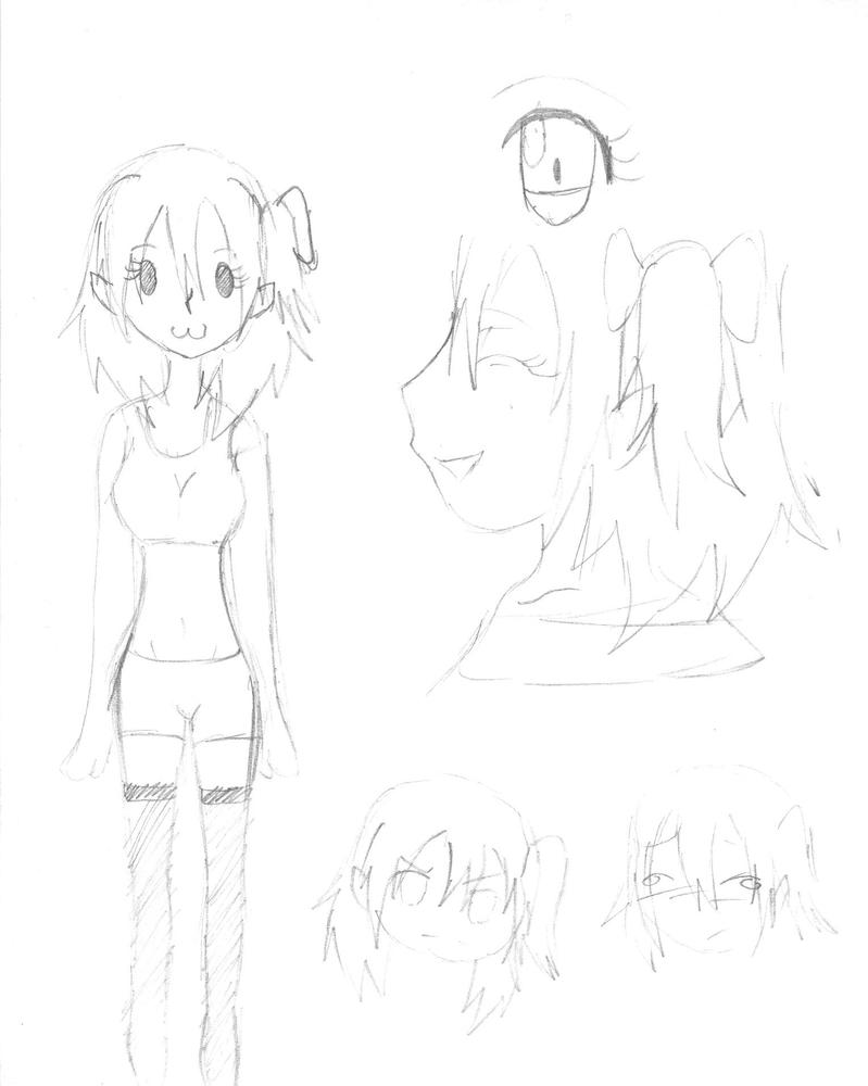 Randon Sketch of Yukari by Tirachi