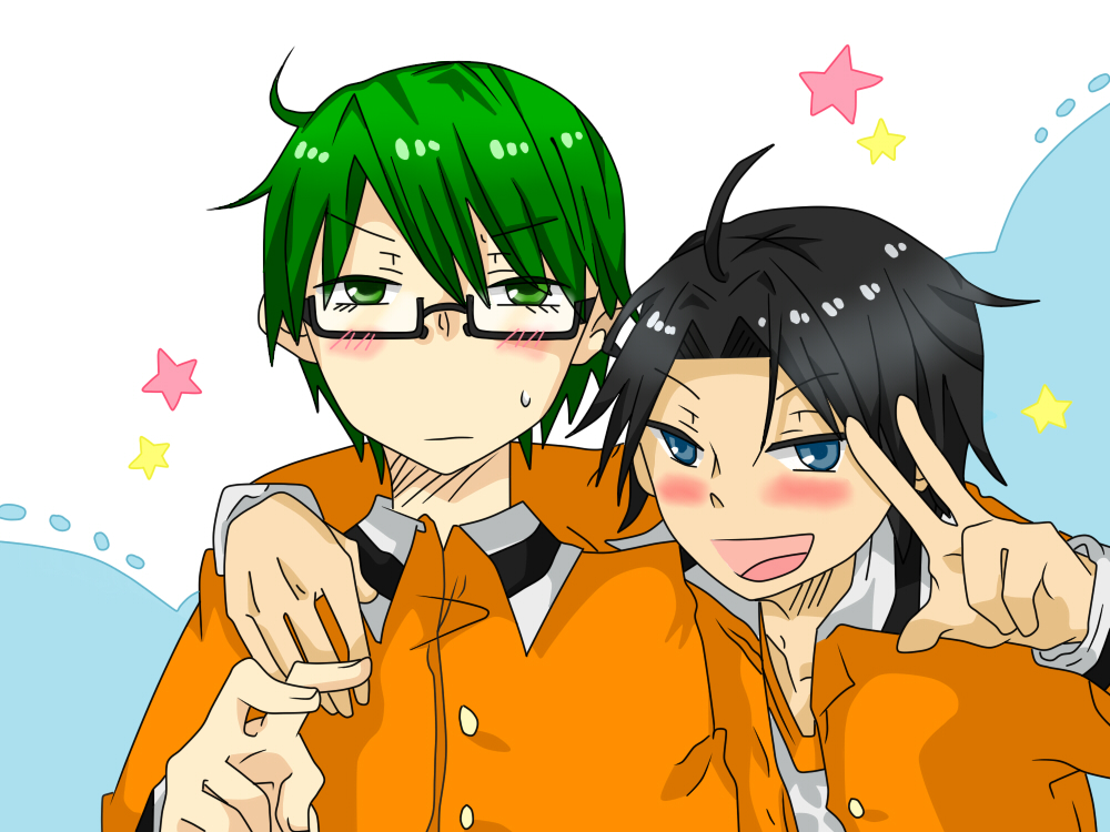 Midorima x Takao Colored by Tirachi