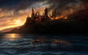 Harry Potter 7 Wallpaper by Misaki2009