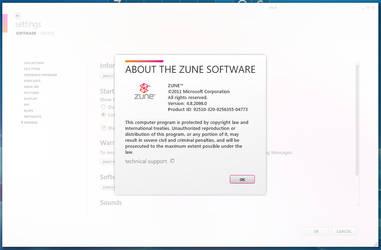 Zune 4.8 by Misaki2009
