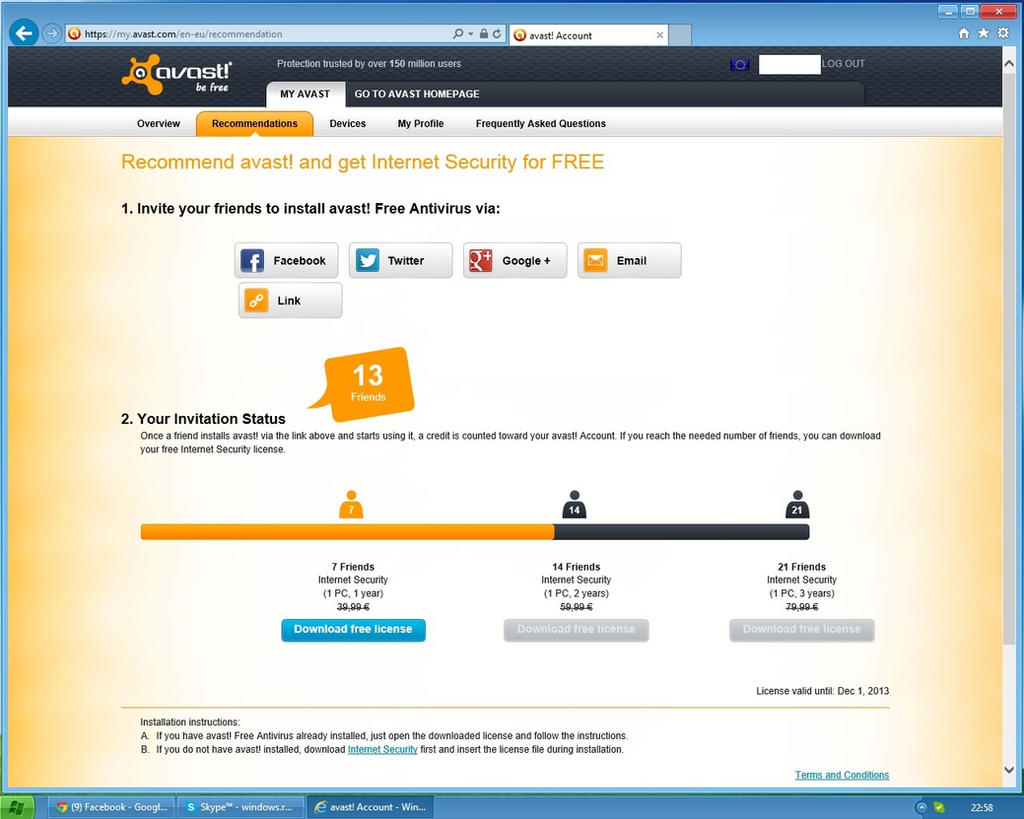 Avast Antivirus Free Download 2009.