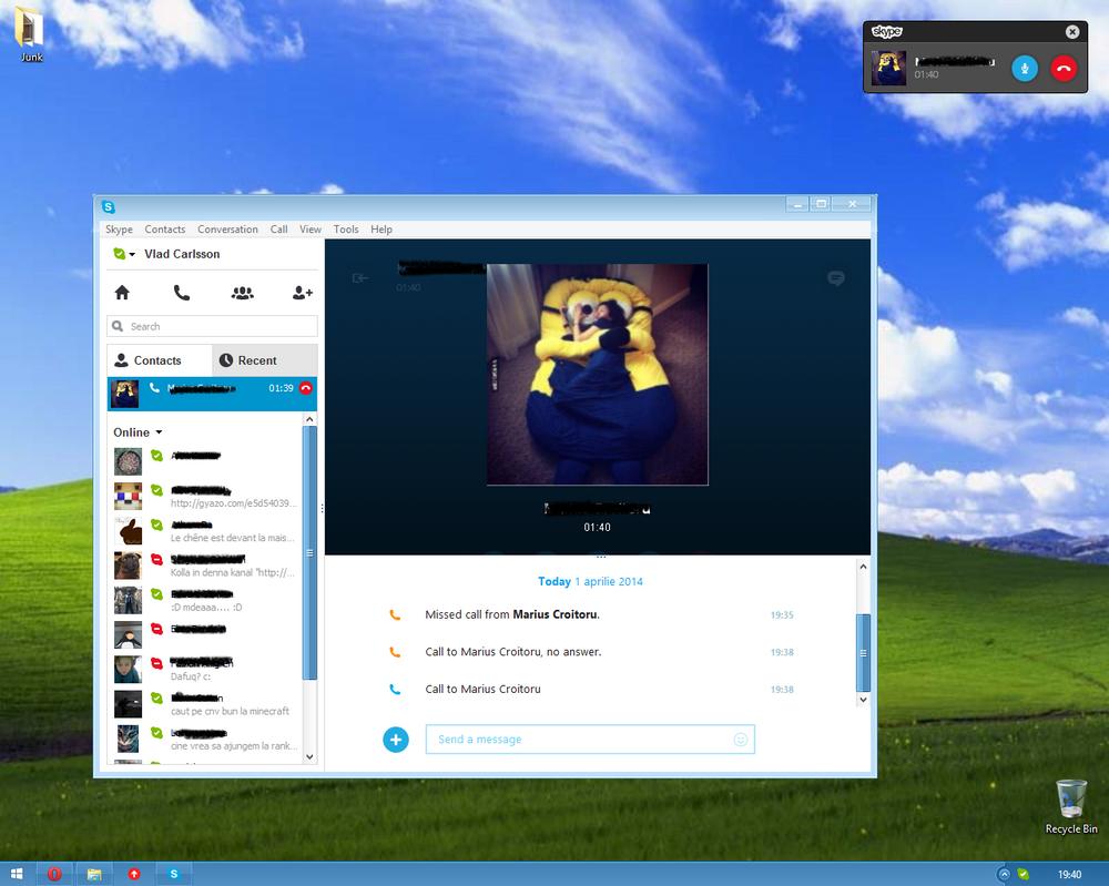 New Skype for desktop UI by Misaki2009