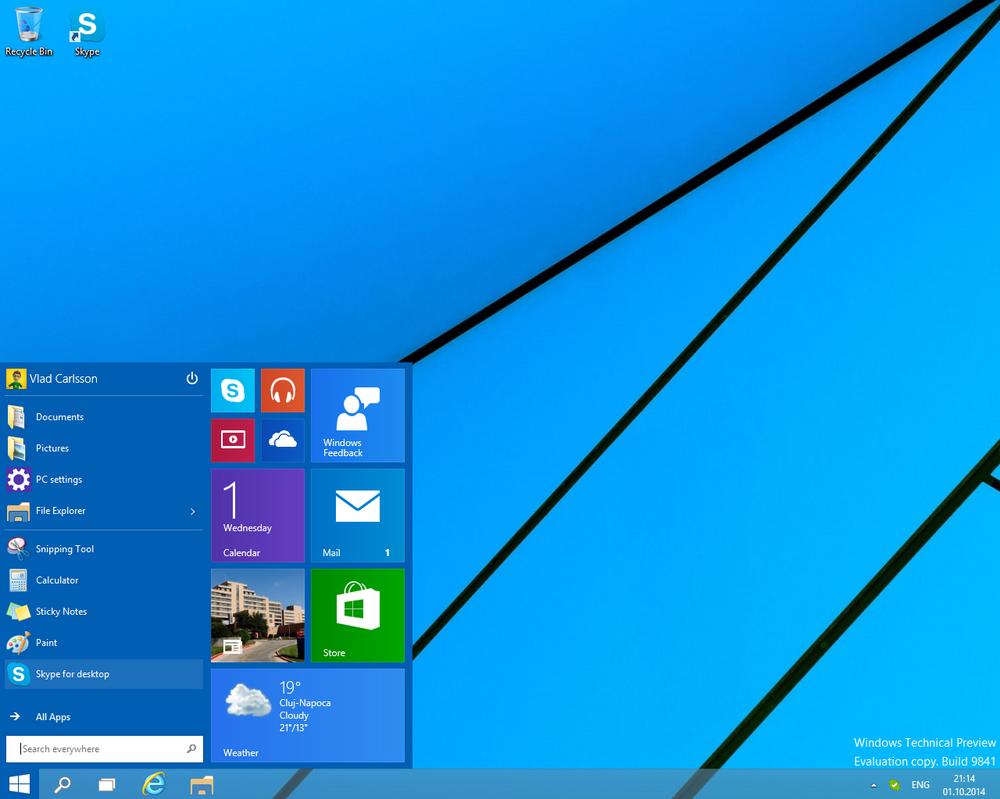 Windows 10 (Build 9841) by Misaki2009