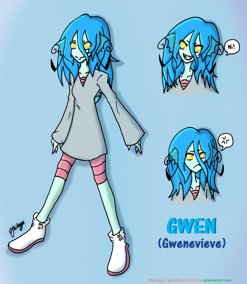 Lluvirksona Gwen (Gwenevieve) by Mikage-YoshinoAnerin