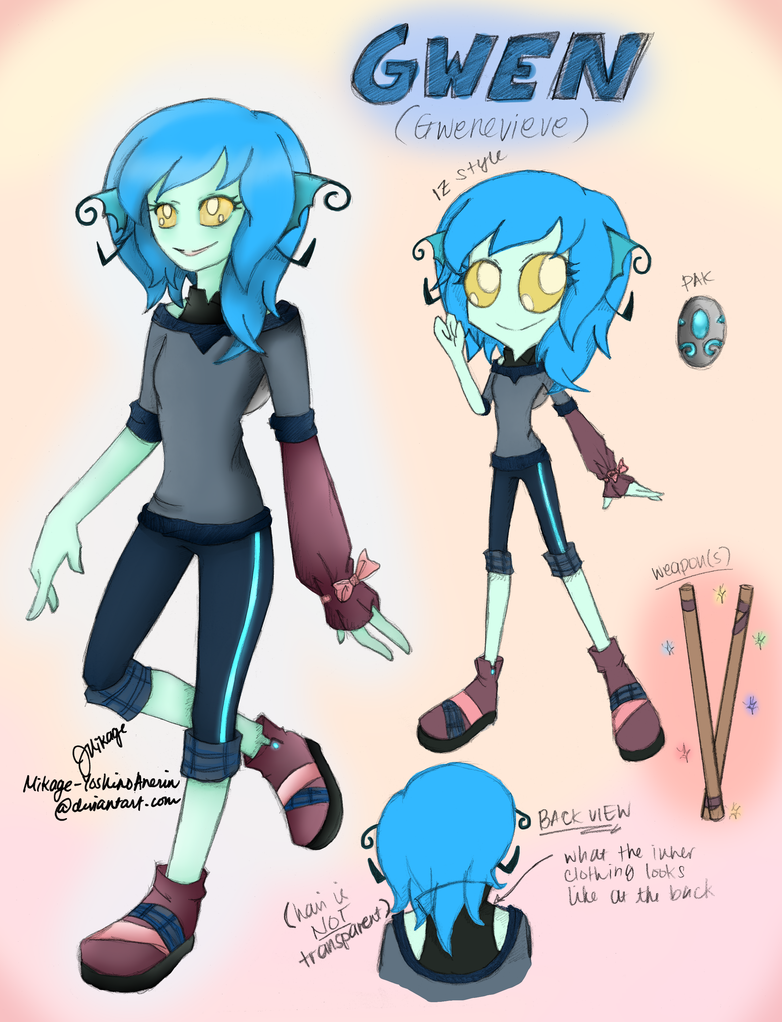 Gwenevieve (persona update) by Mikage-YoshinoAnerin