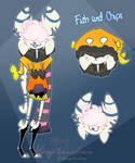 Unnamed New Motif Monster OC by Miikage