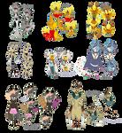 Monster Motif Adopts (CLOSE!) by Miikage