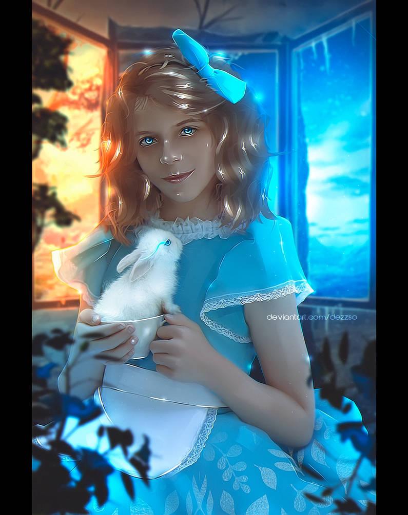 Alice in Wonderland | Commission | Dezzso